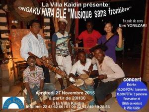 Evenements Abidjan Novembre 2015