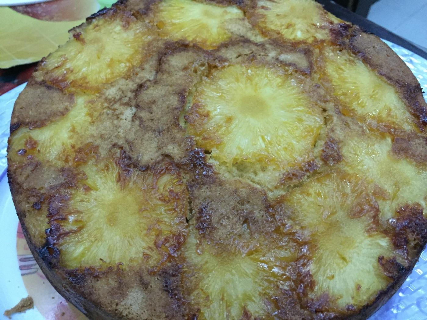 gateau à l'ananas serialfoodie version healthy