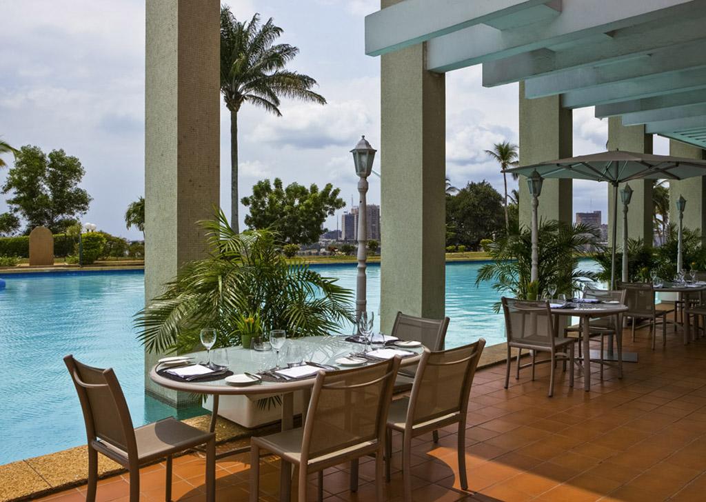 3 espaces de travail / restaurants, La gourmandises, Sofitel Abidjan Hôtel Ivoire, serialfoodie, Abidjan