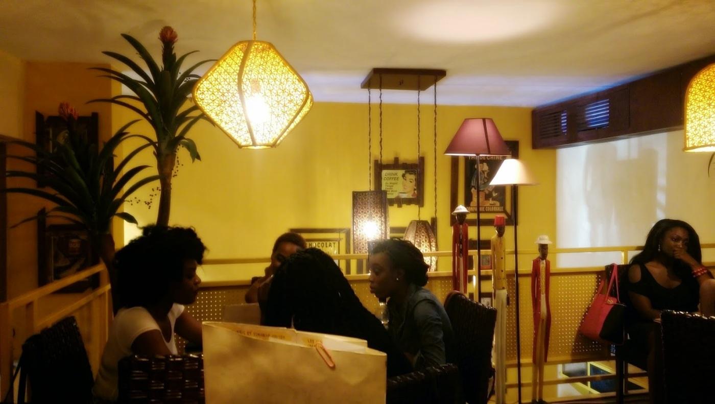 3 espaces de travail / restaurants, Couleur Café, serialfoodie, Abidjan