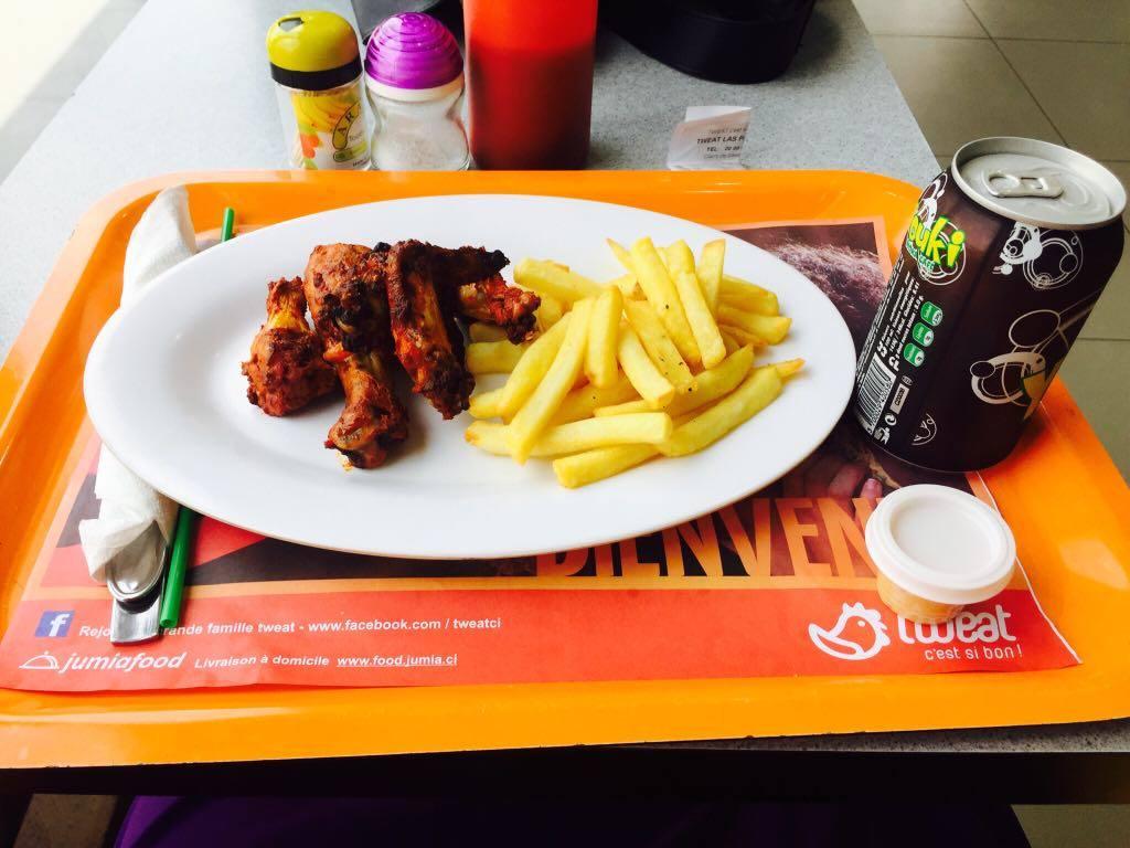 2 KRIKA de Tweat c'est comment ?, poulet et frites version tweat, fast-food, Abidjan, total, Tweat, serial foodie, critique culinaire, ci, ci225, team 225 Côte d'Ivoire