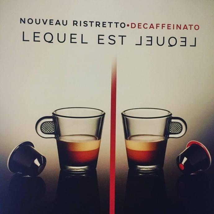 Jumelage avec le Ristretto decaffeinato de Nespresso, serialfoodie, nespresso, blog, blogger, food, foodie, ristretto decaffeinato