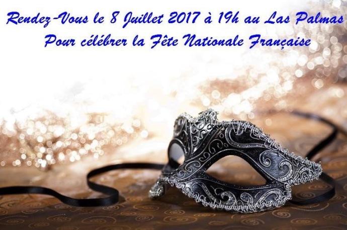 Fête et communion pour la fête nationale française, évent, fête nationale française, 14 juillet, France. Abidjan, Côte d'Ivoire, SerialFoodie
